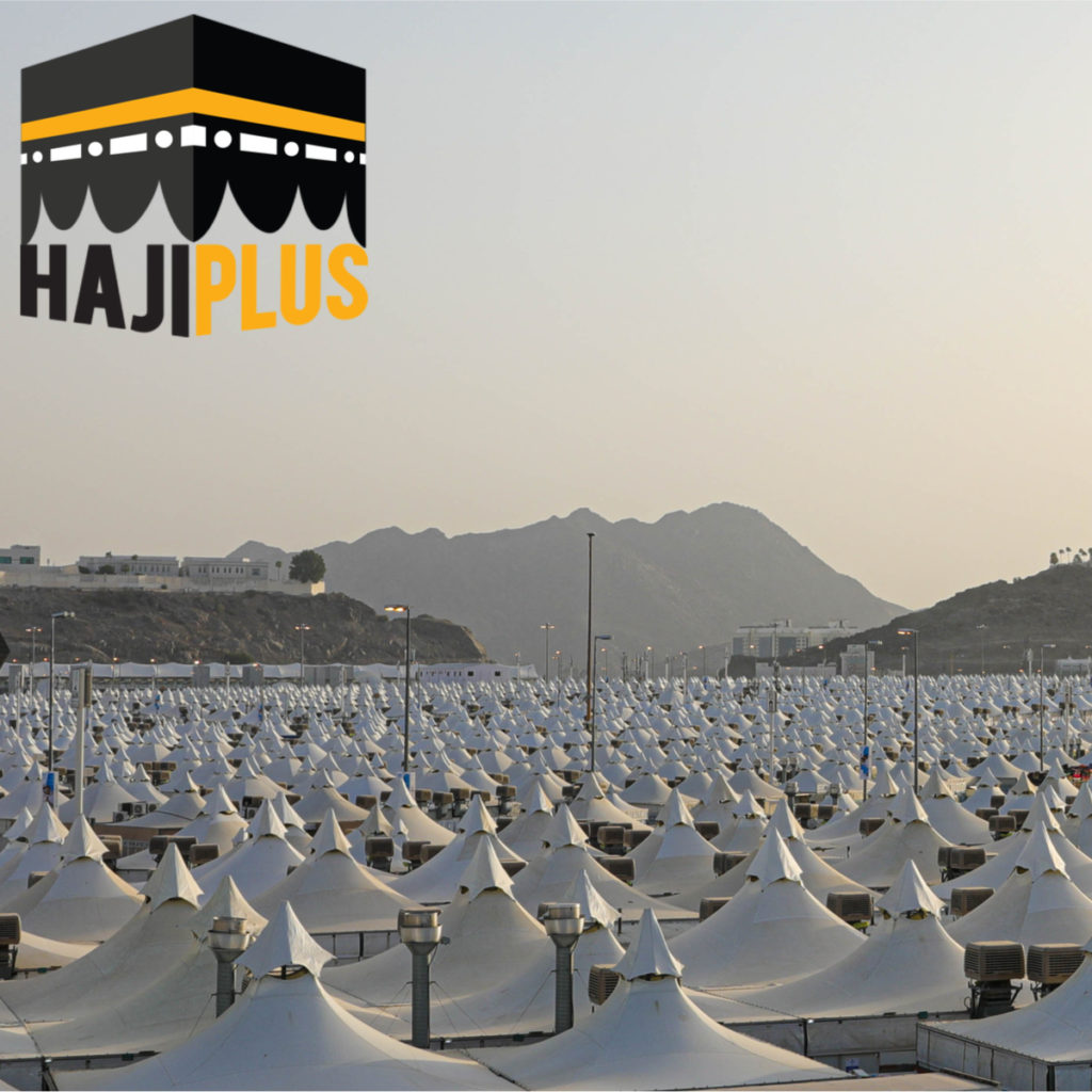 fasilitas yang diperoleh juga sama dengan para jamaah haji lainnya seperti ID dan tenda mina