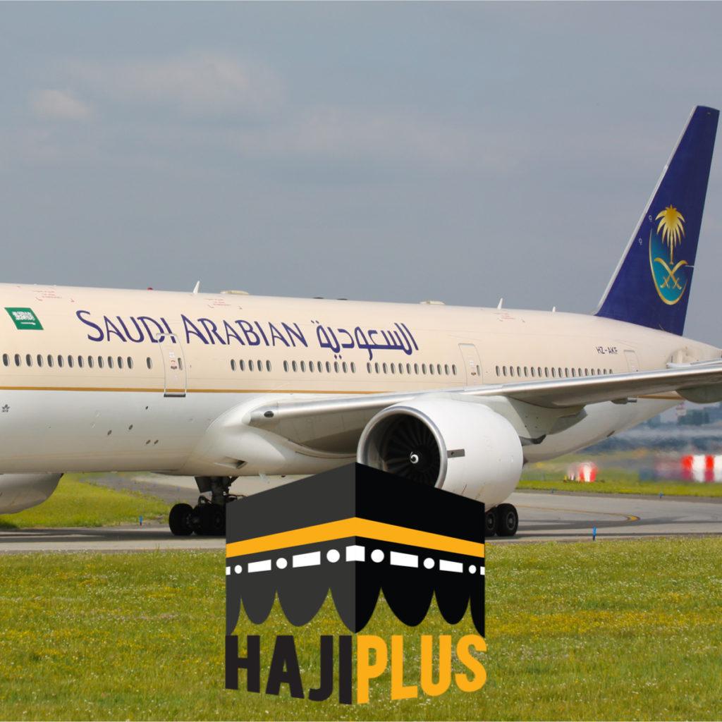 Tiket pesawat untuk pulang pergi dengan Saudi Airlines kelas ekonomi