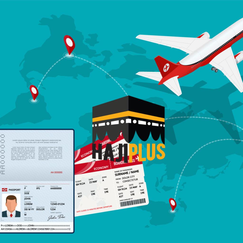 Periksa kembali 2 sampai 3 kali untuk memastikan bahwa tiket, paspor, serta haji visa furoda tidak ketinggalan dan tidak salah.