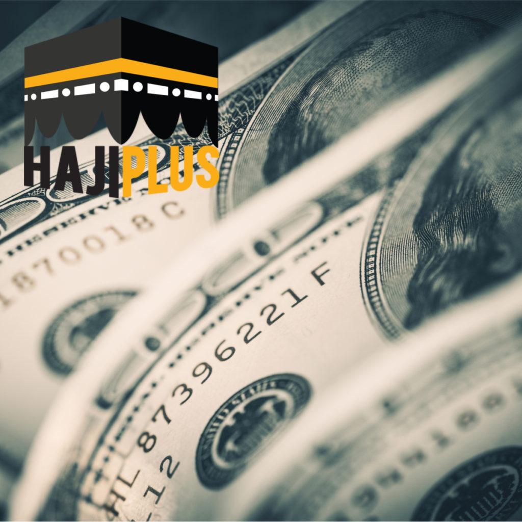 Saat ini biaya untuk mengikuti Haji Furoda adalah sekitar 15.000 US dollar.